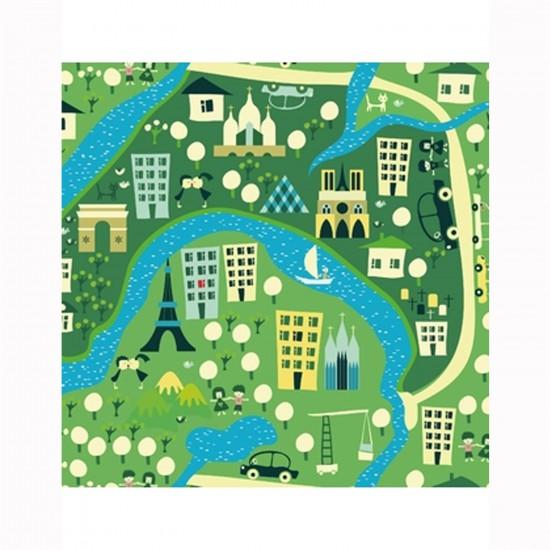 Puzzle d'art en bois 30 pièces Michèle Wilson Cuzzles Paris : Un tour à Paris - PMW-Z11