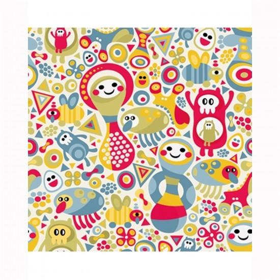 Puzzle d'art en bois 30 pièces Michèle Wilson Cuzzles Printemps : Confetti - PMW-Z03