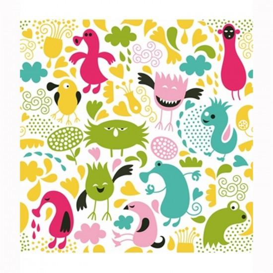 Puzzle d'art en bois 30 pièces Michèle Wilson Cuzzles Printemps : Monstres - PMW-Z04