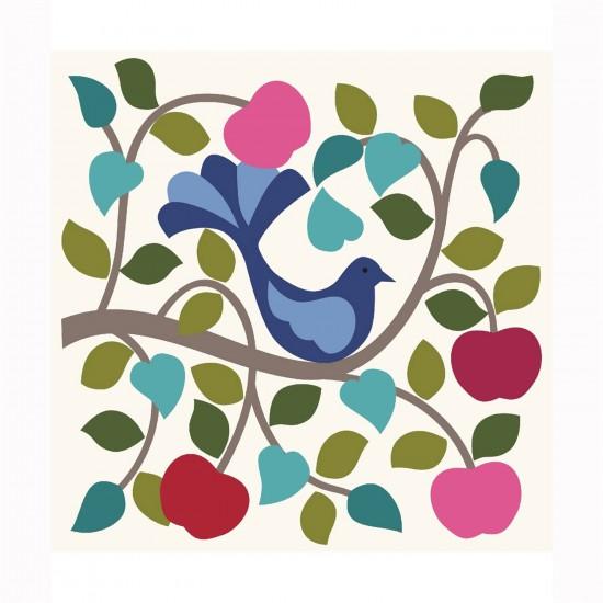 Puzzle d'art en bois 30 pièces Michèle Wilson Cuzzles Printemps : Oiseaux - PMW-Z01