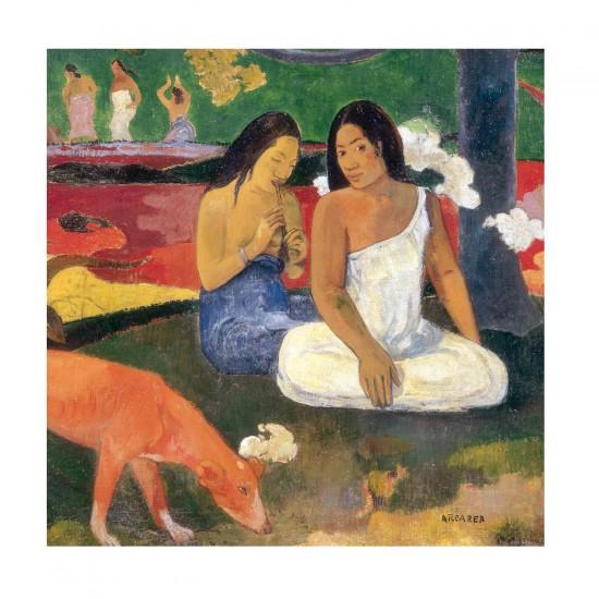 Puzzle d'art en bois 30 pièces Michèle Wilson - Gauguin : Arearea - PMW-Z358