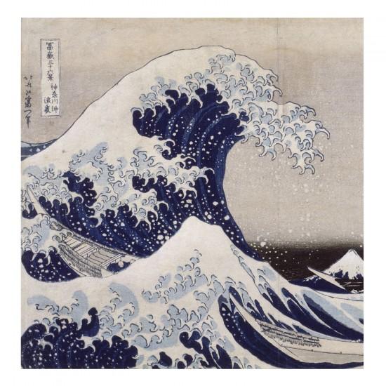 Puzzle d'art en bois 30 pièces Michèle Wilson - Hokusai : La vague - PMW-Z943