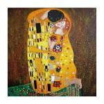 Puzzle d'art en bois 30 pièces Michèle Wilson - Klimt : Le baiser