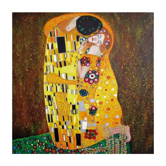 Puzzle d'art en bois 30 pièces Michèle Wilson - Klimt : Le baiser - PMW-Z108