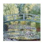Puzzle d'art en bois 30 pièces Michèle Wilson - Monet : Bassin
