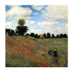 Puzzle d'art en bois 30 pièces Michèle Wilson - Monet : Coquelicots