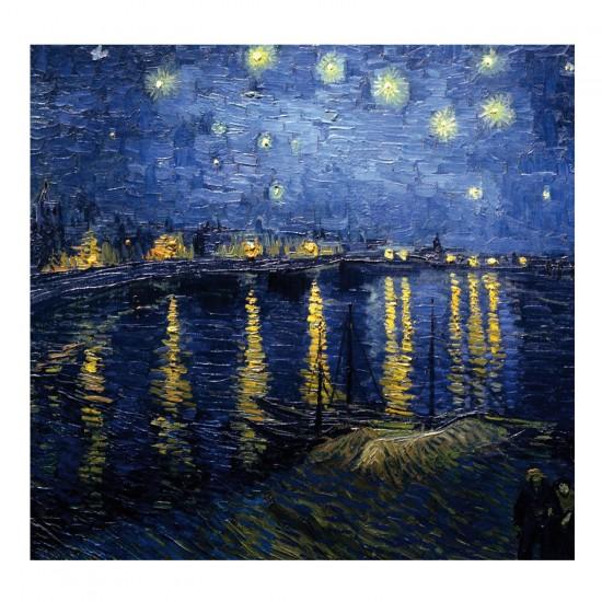 Puzzle d'art en bois 30 pièces Michèle Wilson - Van Gogh : La nuit étoilée - PMW-Z53