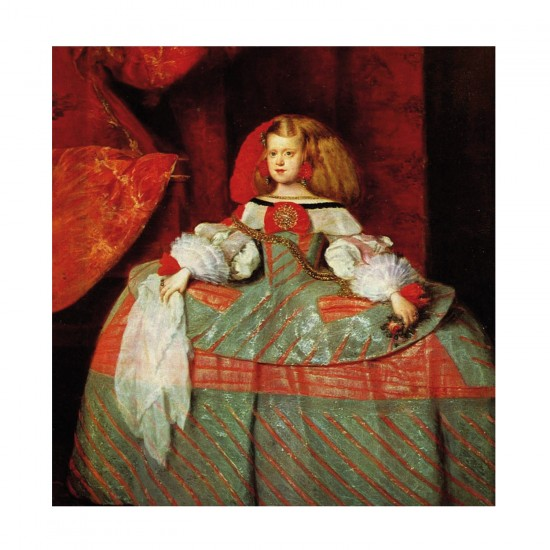 Puzzle d'art en bois 30 pièces Michèle Wilson - Velasquez : L'infante - PMW-Z33