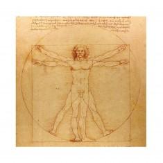 Puzzle d'art en bois 30 pièces Michèle Wilson - Vinci : L'homme