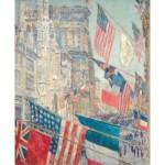 Puzzle d'art en bois 350 pièces : Hassam : Alliés Day May 1917
