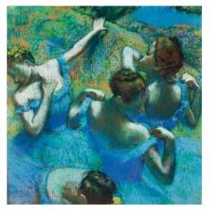 Puzzle d'art en bois 350 pièces Michèle Wilson - Degas : Danseuses Bleues