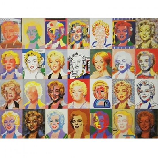 Puzzle d'art en bois 350 pièces Michèle Wilson - Giovanopoulos : Marylin Monroe - PMW-A728-350