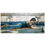Puzzle d'art en bois 350 pièces Michèle Wilson - Hale : Mosaïque Bleue