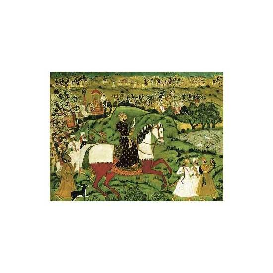 Puzzle d'art en bois 350 pièces Michèle Wilson - Sayyid Djamal - PMW-P914-350