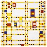 Puzzle d'art en bois 40 pièces : Broadway Boogie Woogie Mondrian