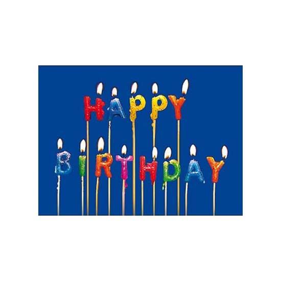Puzzle d'art en bois 40 pièces Michèle Wilson - Bon anniversaire - PMW-M16-40