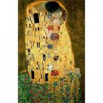 Puzzle d'art en bois 40 pièces Michèle Wilson - Gustav Klimt : Le baiser