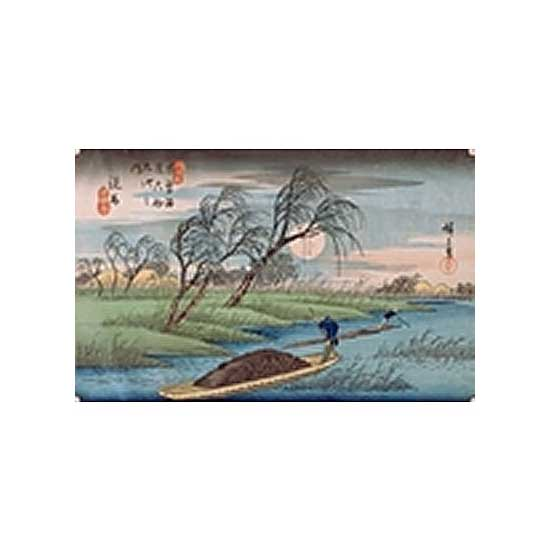 Puzzle d'art en bois 500 pièces Michèle Wilson  :  Seba Hiroshige - PMW-A991-500