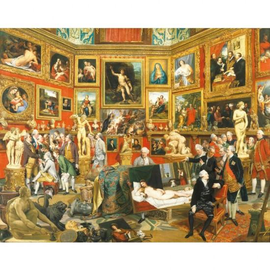 Puzzle d'art en bois 500 pièces Michèle Wilson : Zofanny : La tribune des offices - PMW-A298-500