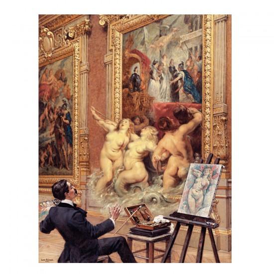 Puzzle d'art en bois 500 pièces Michèle Wilson - Béroud : L'inondation - PMW-A187-500