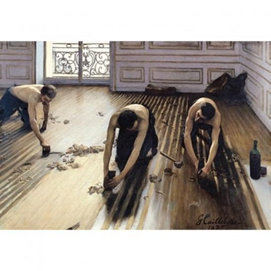Puzzle d'art en bois 500 pièces Michèle Wilson - Caillebotte : Les Raboteurs de parquet - PMW-A817-500