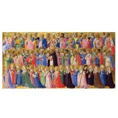Puzzle d'art en bois 500 pièces Michèle Wilson - Fra Angelico : Predelle du Retable