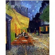 Puzzle d'art en bois 5000 pièces Michèle Wilson - Van Gogh : Le Café du soir