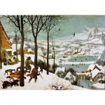 Puzzle d'art en bois 650 pièces : Bruegel : Chasseurs dans la neige