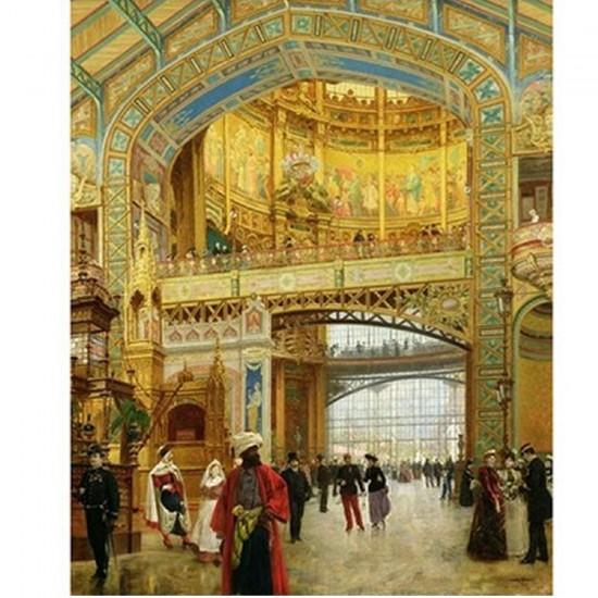 Puzzle d'art en bois 650 pièces Michèle Wilson - Beroud : Le dôme central - PMW-A275-650