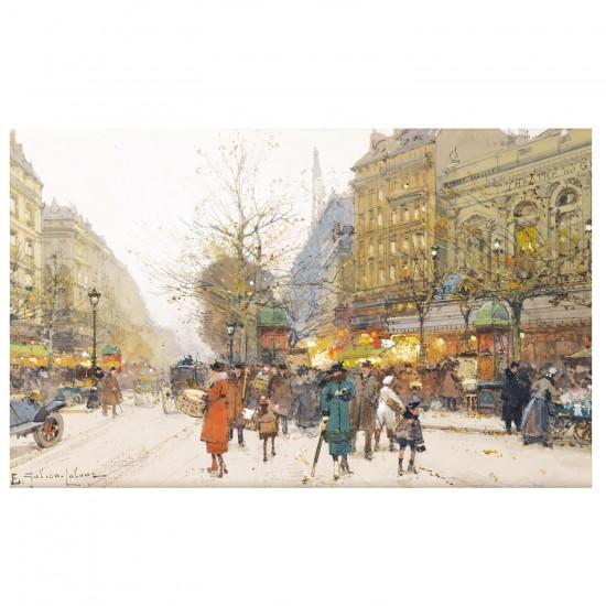 Puzzle d'art en bois 650 pièces Michèle Wilson - Galien-Laloue : Le Théâtre du Gymnase - PMW-A186-650