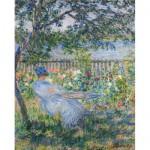 Puzzle d'art en bois 750 pièces Michèle Wilson : Monet : Terrasse à Vétheuil