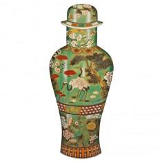 Puzzle d'art en bois 750 pièces Michèle Wilson : Vase Celadon