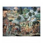 Puzzle d'art en bois 750 pièces Michèle Wilson - Gozzoli : Les Rois Mages