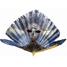Puzzle d'art en bois 150 pièces Michèle Wilson - Eventail l'Oiseau Bleu