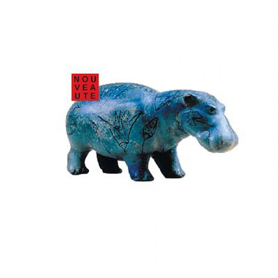 Puzzle d'art en bois 80 pièces Michèle Wilson - Hippopotame - PMW-A561-80