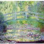 Puzzle d'art en bois 80 pièces Michèle Wilson  -  Monet  :  Le pont japonais