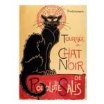 Puzzle d'art en bois 80 pièces Michèle Wilson - Steinlen : Le Chat Noir