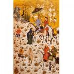 Puzzle d'art en bois 900 pièces Michèle Wilson : Art Oriental : Sultan sandjar