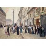 Puzzle d'art en bois 900 pièces Michèle Wilson : Jean Béraud : Rue de la Paix