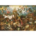 Puzzle d'art en bois 900 pièces Michèle Wilson - Brueghel : Chute des anges rebelles