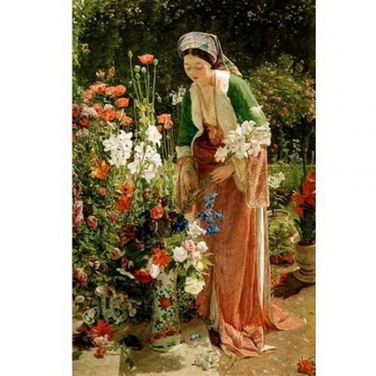 Puzzle d'art en bois 900 pièces Michèle Wilson - Lewis : Dans le jardin - PMW-A204-900
