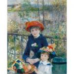Puzzle en bois Art Maxi 12 pièces : Renoir : Deux soeurs