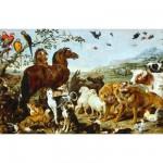 Puzzle en bois - Art Maxi 12 pièces - Vos : Entrée des animaux de Noé