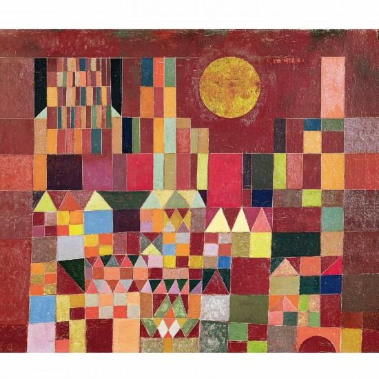 Puzzle en bois Art maxi 24 pièces : Klee : Chateau et soleil - PMW-W203-24