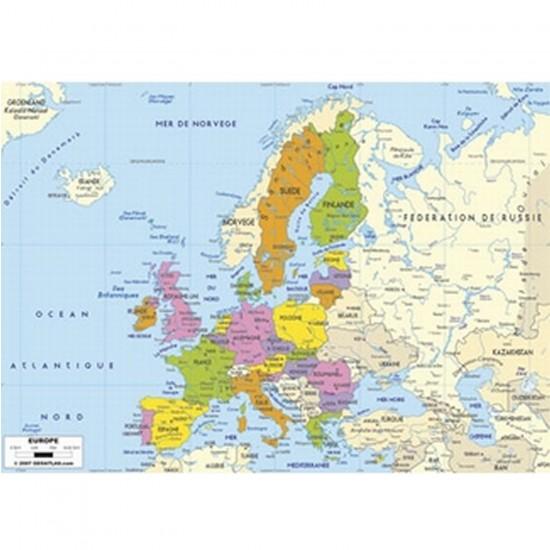 Puzzle en bois - Art maxi 50 pièces - Carte d'Europe - PMW-W74-50