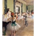 Puzzle en bois - Art maxi 50 pièces - Degas : La classe de danse