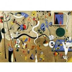 Puzzle en bois - Art maxi 50 pièces - Miro : Carnaval