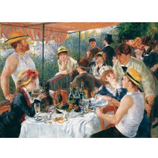 Puzzle en bois - Art maxi 50 pièces - Renoir : Le déjeuner des canotiers - PMW-W61-50