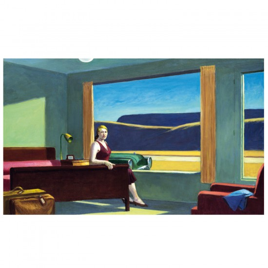 Puzzle d'art en bois 500 pièces Michèle Wilson - Hopper : Le Motel - PMW-A185-500