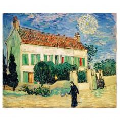 Puzzle d'art en bois 650 pièces Michèle Wilson - Van Gogh : La Maison Blanche